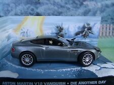 1/43  Aston Martin V12 James Bond DIE ANOTHER DAY  007 series  diorama