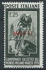 1951 TRIESTE A CICLISMO MNH ** - ED011