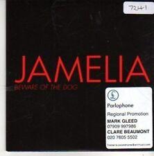 (BZ268) Jamelia, Beware Of The Dog - 2006 DJ CD