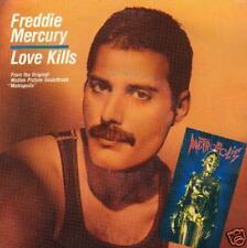 """SINGLE 45 FREDDIE MERCURY LOVE KILLS HOLLAND  NL  7"""""""