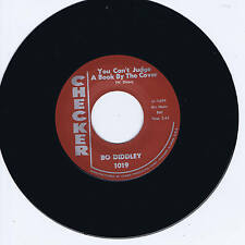BO DIDDLEY -YOU CAN'T JUDGE A BOOK BY THE COVER / I CAN TELL - CLASSIC BO BOPS
