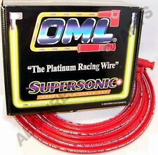 GM 3.8L OHV 99-09 High Performance 10 mm Red Spark Plug Wire Set 48307R