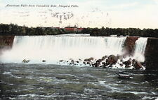 NIAGARA FALLS SEEN FROM CANADIAN SIDE - 1911 POSTCARD