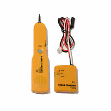 Cable Finder Tone Generator Probe Tracker Wire Network Tester Tracer Kit