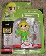World of Nintendo Legend of Zelda Link Action Figure Jakks Pacific Toy