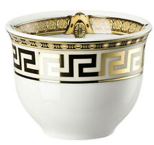1 VERSACE GOLD  Cup candle holder soya bowl salt GREEK KEY  Multi purpose