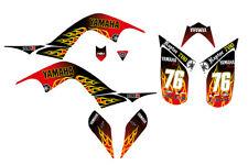 Raptor 700R Graphics decal kit Yamaha 2006 2007 2008 2009 2010 2011 2012 racing