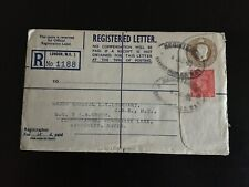 More details for gb 1948 regd letter london wc to kimberley notts hq 5 aa group 6.5d rate (1144)