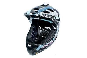 CIGNA TT919 Kids Cycling Bike Half/Full-Face Helmet w/Bosom-Friend decals M