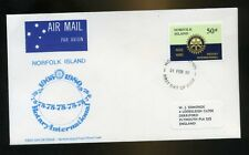 1980 Norfolk Island Rotary International First Day Cover