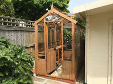 6 x 4 Wooden greenhouse Wood