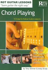 RGT GUITAR LESSONS Chord Playing Book & CD