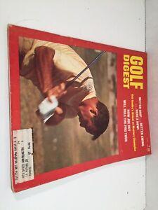 Vintage April 1969 Golf Digest Arnold Palmer Cover