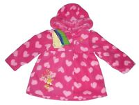 BABY GIRLS COAT JACKET FLEECE IN THE NIGHT GARDEN UPSY DAISY PINK