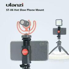 Ulanzi ST-06 Phone Holder Tripod Mount Camera Hot Shoe Smartphone Clip for DSLR
