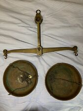 Antique A. Hasemann Berlin 10kg Large Collectible Brass Hanging Balance Scale
