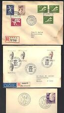 Sweden 1940-70s Collection Of 29 Covers & Post Cards 16 Fdcs & 13 Post Cards