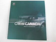 2005 GM Canada Car Press Kit Media Brochure Guide - Optra Epica Wave Pursuit