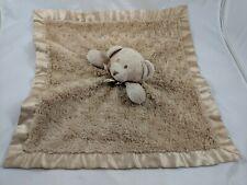 Blankets & Beyond Brown Bear Lovey Security Blanket