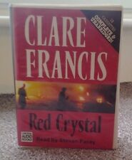 Audio Book Cassettes Red Crystal Clare Francis read by Steven Pacey