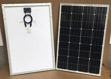 Pannello solare fotovoltaico 100 W 24 V monocristallino - largo - 4 busbar