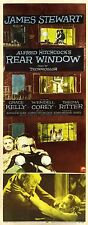 REAR WINDOW (1954) Insert poster for classic Hitchcock mystery thriller NR FINE