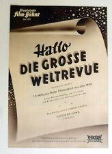 IFB 1372- HALLO GROSSE WELTREVUE - FILMPROGRAMM MOVIE-PROGRAM - DOKUMENTATIO7