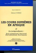 Les Cours suprêmes en Afrique