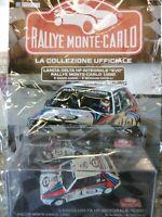 1:43 LANCIA DELTA HF INTEGRALE EVO  RALLYE MONTE-CARLO C. #62 IXO DIE-CAST MIB