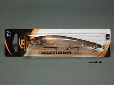 Bomber Cuillère b15a Long a - 11,5 cm-Silver Flash Black Back