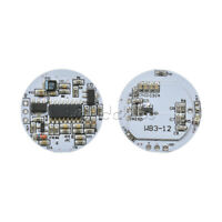 2PCS LED Microwave Radar Sensor for 3-12W Spherical Lamp Smart Switch DC 3.3-20V