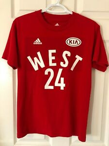 Adidas Kobe Bryant 2016 West All Star Game Toronto T-Shirt Mens Small