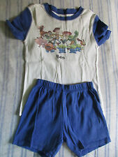 Guc Disney Store Toy Story Summer Pjs Boys Size 5 Personalization Ben