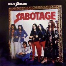 BLACK SABBATH VINYL LP SABOTAGE - VINYL BLEU - BLUE VINYL