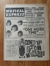 NME Music Newspaper dated June 11th 1965 Them One More Time cover