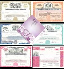 Introductory Stock Certificate Set with Guide Book