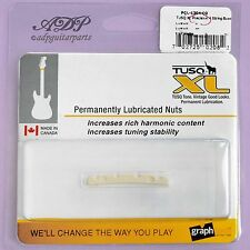 SILLET BASSE IVORY TUSQ XL FENDER PRECISION BASS Slotted Nut Graph Tech PQL-1204