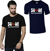 54 - 46 Was My Number Trojan Skinhead Ska Reggae T-Shirt, Soul Music Gift Top