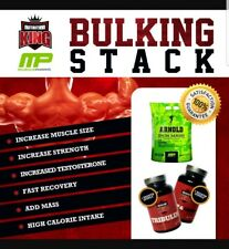 Nutrition King Muscle Bulking And Mass Stack 4.5kg Mass Gainer USN Anabolic BSN