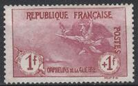 "FRANCE STAMP TIMBRE 154 "" ORPHELINS 1F+1F MARSEILLAISE "" NEUF xx SUPERBE  M234"
