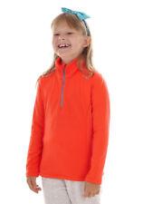 CMP Sweater Long Sleeve Shirt Collar Shirt Red Stretch Gridtech