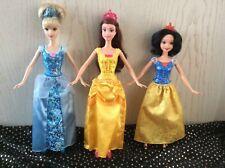 Mattel Disney Barbie Belle, Cinderella, Belle.