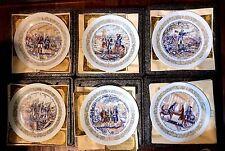 Lafayette Legacy Collection D'arceau-Limoges Plates w/Coa & Story of Plates