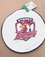 Official NRL Dog Soft Fabric Flying Fetch Disc Toy Rooster Easts