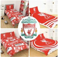 Liverpool FC England Football Duvet Cover Bed Set Single Double Kids Adults