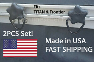 D-Ring HAND SCREW mount FITS Nissan Frontier and TITAN Bed Rail Tslot Hook 2PCS