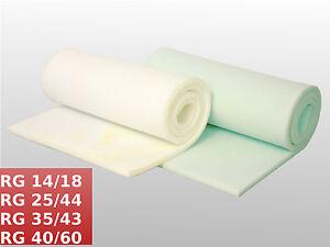 Schaumstoff Zuschnitt Matte Platte Matratze Polster 60x200 90x200 120x200cm