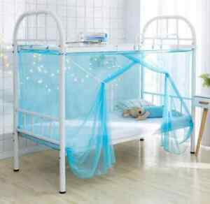 Dormitory Mosquito Net Bunk Bed Encryption Nets Bed Canopy Square Student