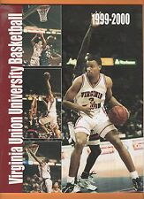 Virginia Union 1999 Basketball Program & 14 card lot