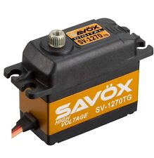 Savox SV-1270TG High Voltage Monster Torque Titanium Gear Digital Servo sv1270tg